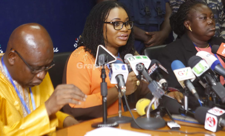 Press Statement Read By Minister For Information, Mustapha Abdul-Hamid (Ph.D), On President Akufo-Addo's Implementation Of Recommendations Of Chief Justice's Committee Set Up To Look Into Petitions Against Mrs. Charlotte Osei And Her Two Former Deputies