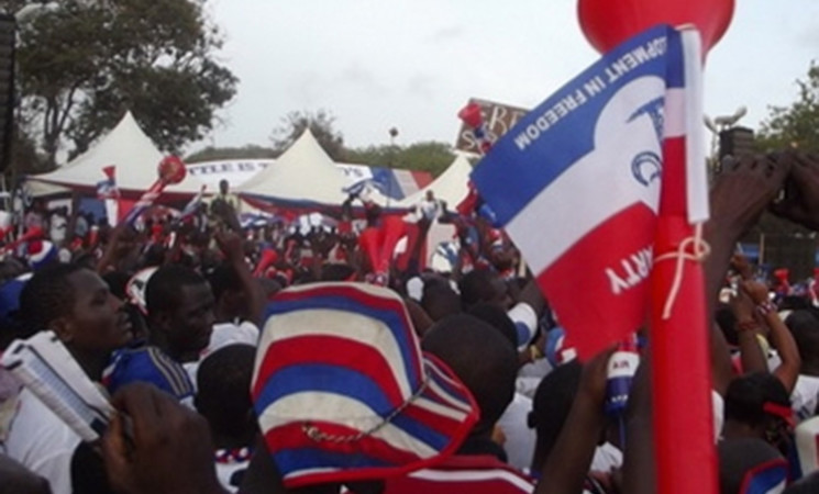 NPP USA Sends Delegation to Koforidua