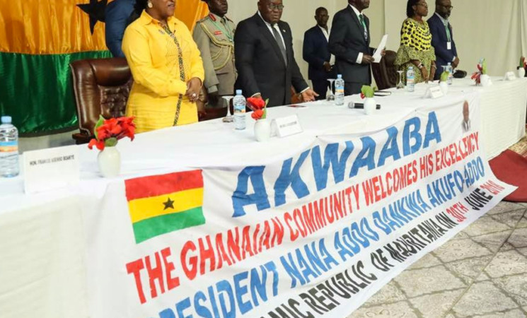 """I Had No Choice but to Remove EC Chair, Deputies"" – President Akufo-Addo."