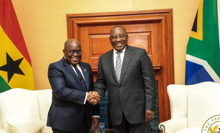 President Akufo-Addo Welcomes Strategic Partnership between Ghana and South Africa