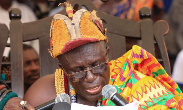 """Thank You For Free SHS"" – Awulae Attibrukusu III To President Akufo-Addo"